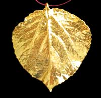 Jewelry by marks information about us the solid gold plated aspen leaf shows its brilliance is approximately 25 by 3 inches with 24k gold plate item aspen orn goldsolid aloadofball Choice Image